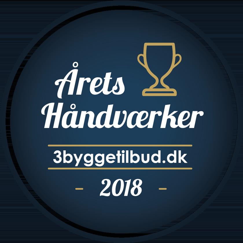 Årets håndværker 2018