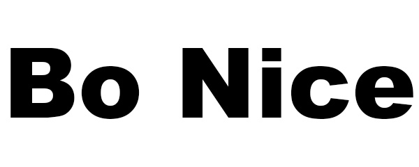 Bo Nice