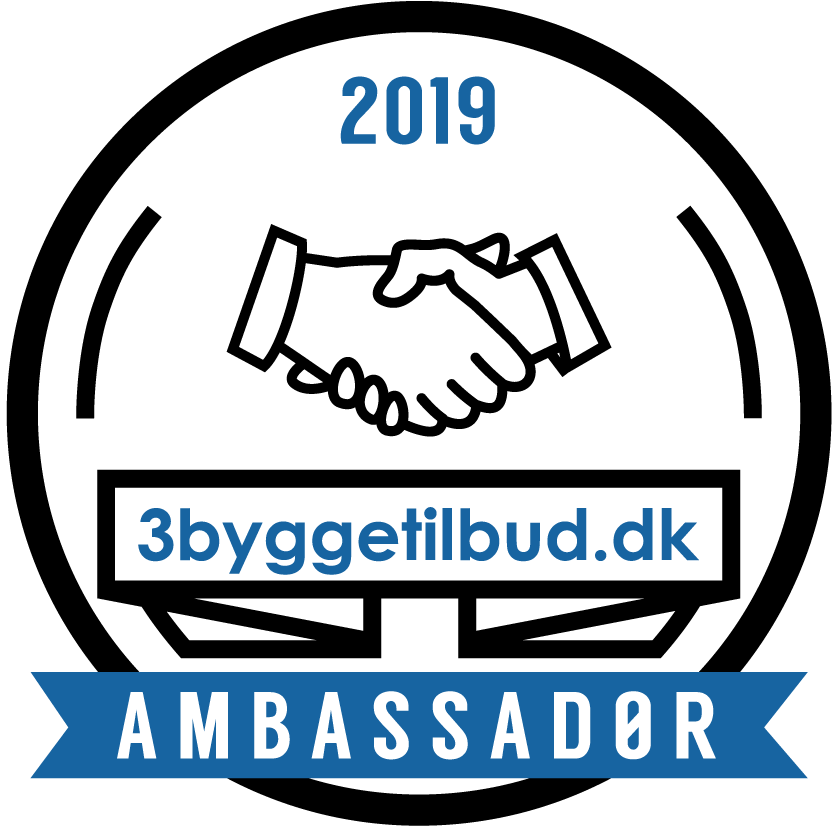Ambassadørbadge - 3byggetilbud.dk
