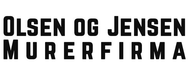 Olsen og Jensen Murerfirma